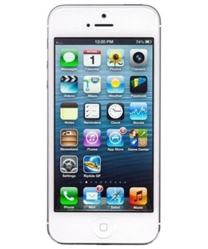 Apple iPhone 5 (Silver, 16 GB)