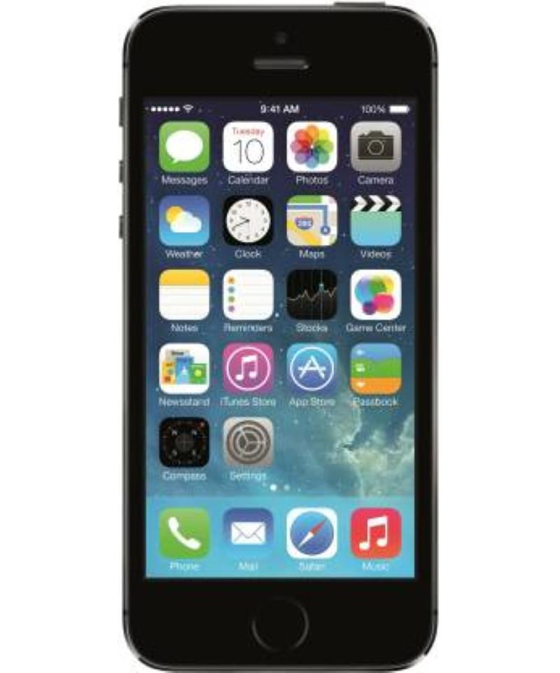 Apple iPhone 5s (Space Grey, 16 GB)