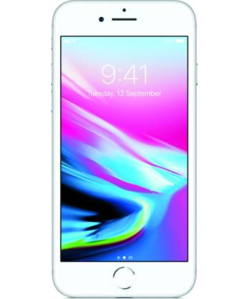 Apple iPhone 8 (Silver, 256 GB)