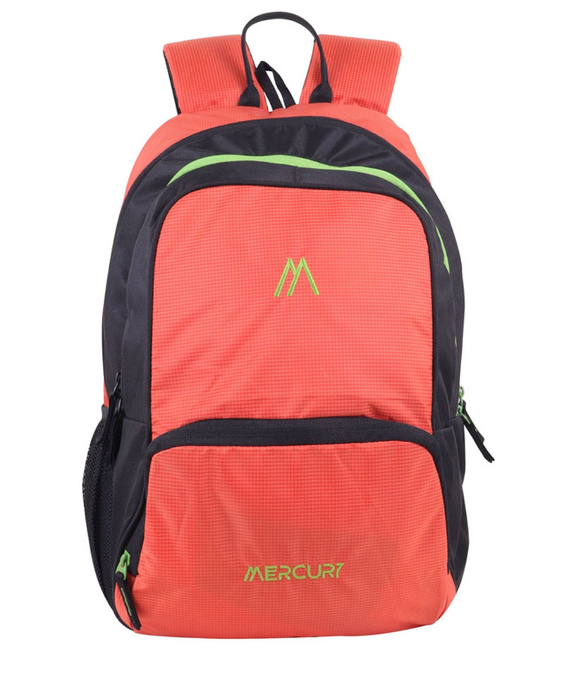 Mercury 21Ltr Expandable Waterproof School Bag(Orange)