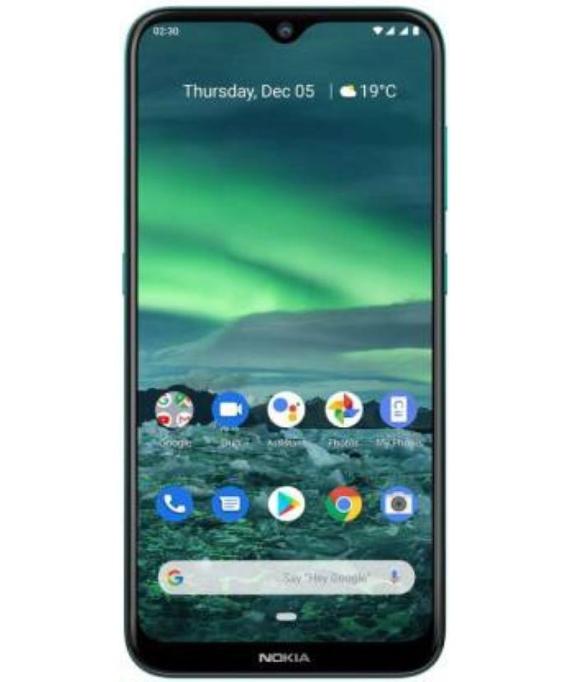 Nokia 2.3 (Cyan Green, 32 GB)  (2 GB RAM)