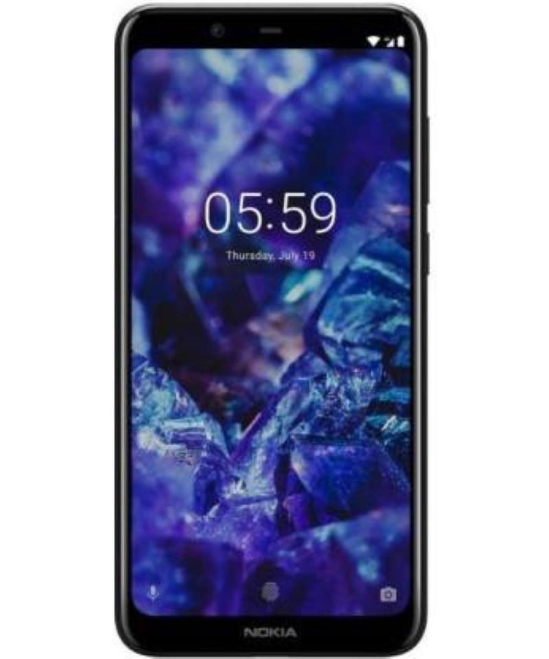 Nokia 5.1 Plus (Black, 64 GB) (4 GB RAM)
