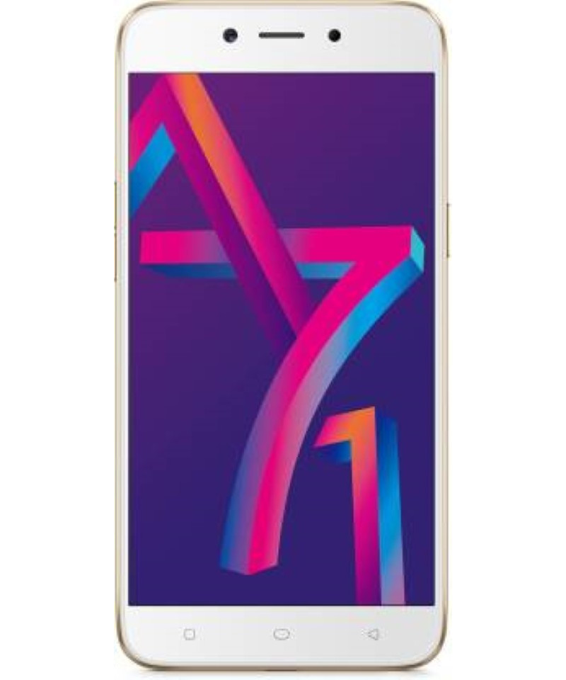 OPPO A71k (New Edition) (Gold, 16 GB)  (3 GB RAM)