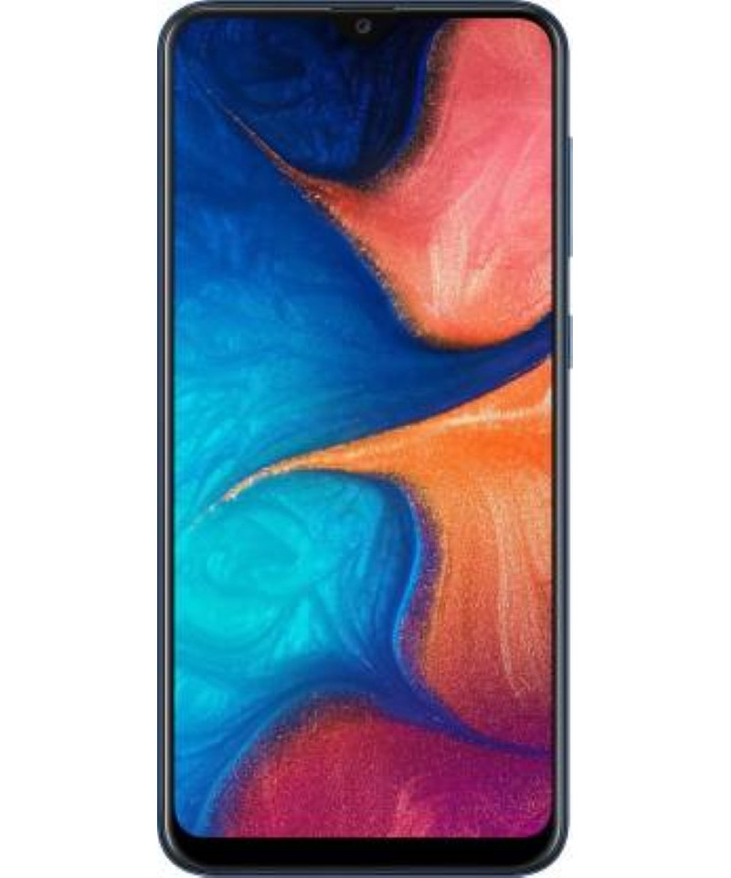 Samsung Galaxy A20 (Deep Blue, 32 GB)  (3 GB RAM)