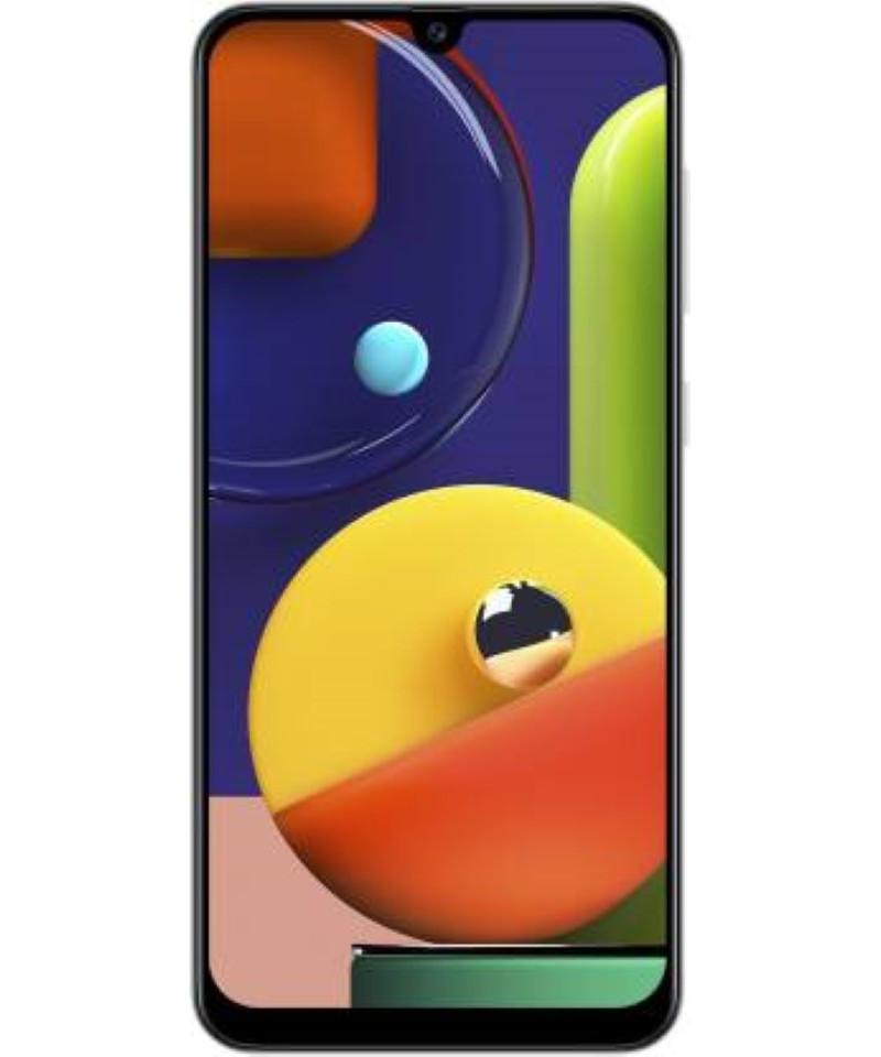 Pre Owned Samsung Galaxy A50s (Prism Crush White, 128 GB)  (6 GB RAM)