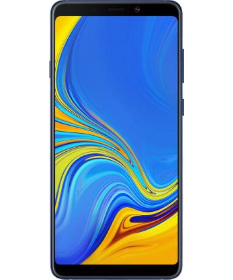 Samsung Galaxy A9 (Lemonade Blue, 128 GB)  (6 GB RAM)