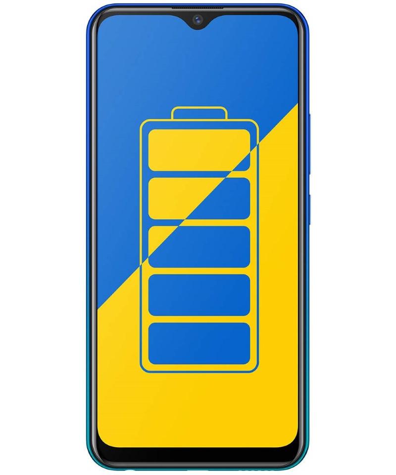 Vivo Y15 (Aqua Blue, 64 GB) (4 GB RAM)