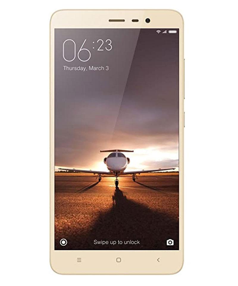 Xiaomi Redmi Note 3 (Gold, 3 GB RAM, 32 GB)